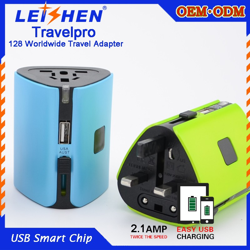 wholesale personalized gifts usb travel adapter promotional bulk personalized gifts