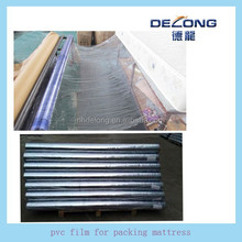 various size soft pvc plastic film for packing bed