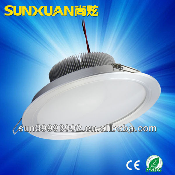 18w led downlight intertek lighting ip44 cob downlight