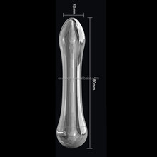 Free shipping hot selling stainless steel dildo vibrator/high quality vibrating dildo