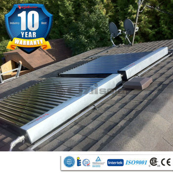 10 year warranty absorption efficiency 93~96% swimming pool solar heaters
