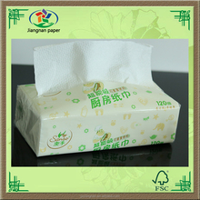 Low Price Wood Pulp Folded Tissue Paper towel