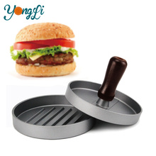Aluminum Hamburger Presses Patties Maker for Barbecue Kitchen Meat Tools for Burgers Press