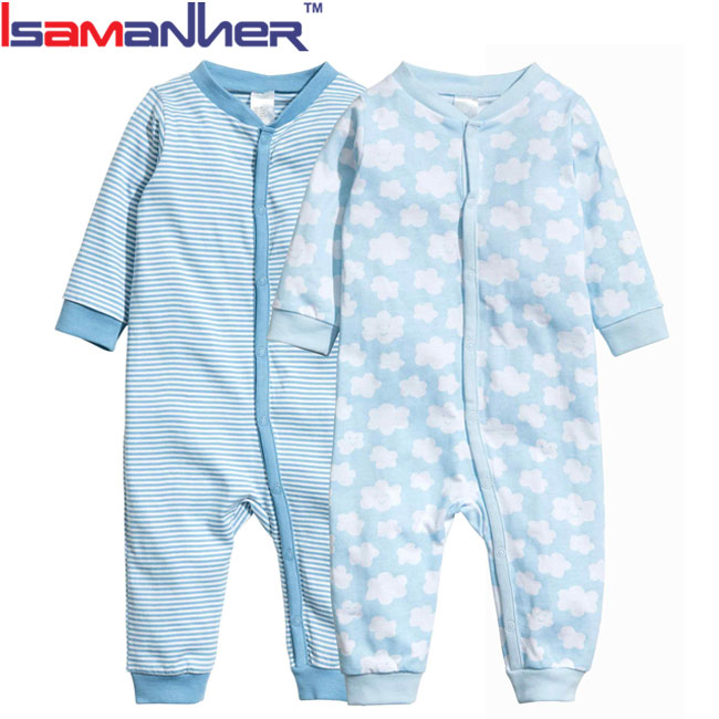 Bulk infant clothing unisex wholesale baby long sleeve romper