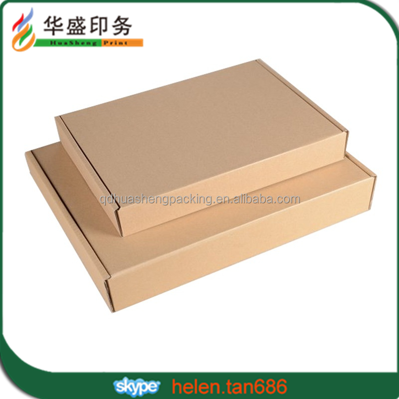 2016 Hot Sale Custom online shopping corrugated paper box packaging