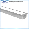 NEW and HOT 65mm width dimmable top quality CE ROHS SAA TUV connectable recessed linear light