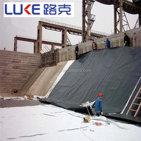 smooth surface HDPE Geomembrane for fish pond
