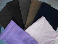 dyeing 65% polyester 35% cotton poplin fabric for making shirts