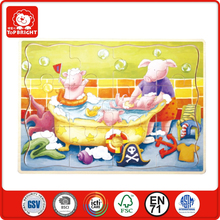 2013 trendy gift toys for child alphabet letter cutting 3d cubic puzzle alphabet letters plastic jigsaw puzzle 3d wood puzzles