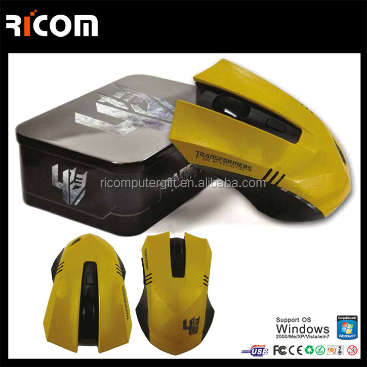 Shenzhen Ricom 2.4G wireless bluetooth computer mouse for laptop or PC--MW8080