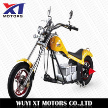 Fast speed new 500w/800w/1000w electric chopper motorcycle with electric start