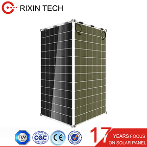 390Wp high power 72 cells N-type Mono Bifacial Solar Cell panel solar PV modules