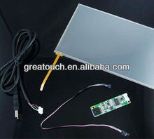 "18.5"" 5 wire resistive touch screen panel"