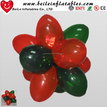 Red and Green PVC Inflatable decorative fake grape