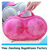 Mix Colors Fashion Travel Bra Storage Bag in EVA Material to Protect Bras