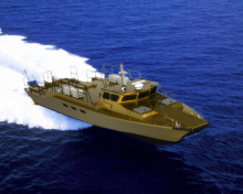 High speed aluminum military patrol rescue crew boat landing craft