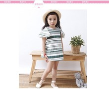 S60518A beautiful summer model children frocks designs for baby girl