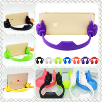 Wholesale lovely thumb ok stand hand shaped phone holder