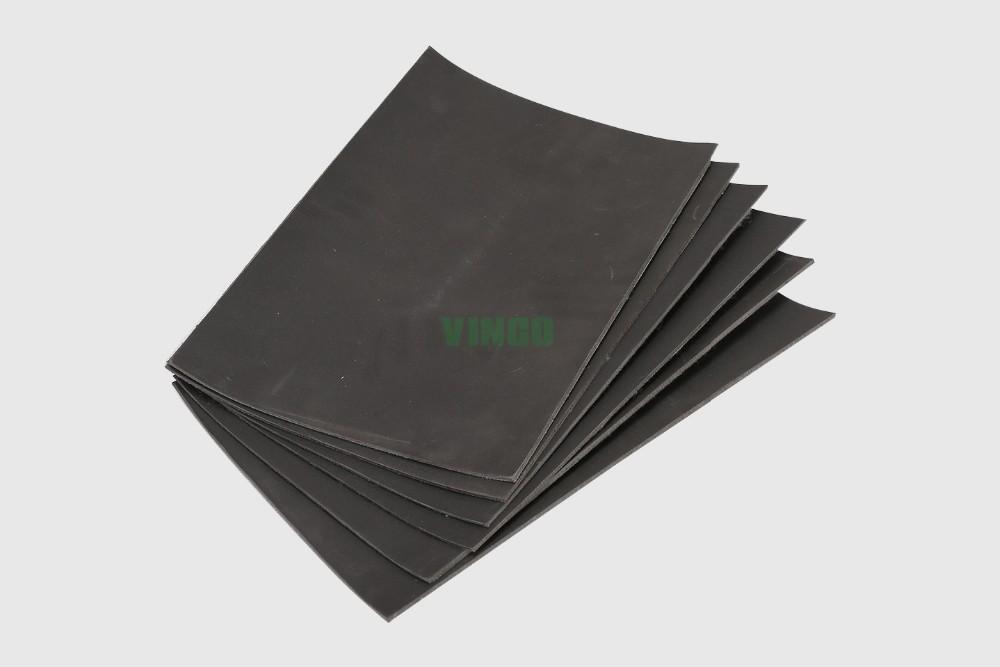 Fireproof Sound Absorbing Blanket : Black color sound proof materials insulation blanket