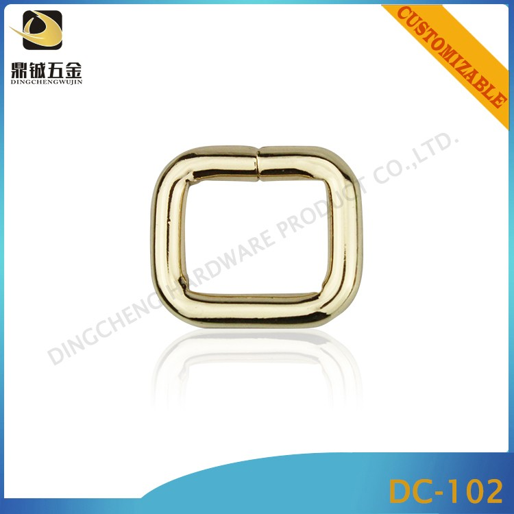 high quality electro plating wholesale zinc alloy hardware for bag