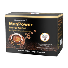 Ginseng Tongkat Ali Powder Coffee Strengthen Stamina Supplement