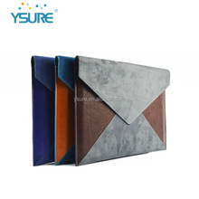 Soft Hand Feeling PU Leather Fabric Universal Envelope Bag Case for iPad Air 2