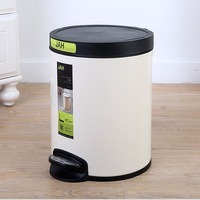 Household Aluminium Garbage Trash Bin Smart
