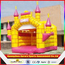 2016 Inflatable Moonwalk Bounce House for Kids , Adult Inflatable castle For Sale