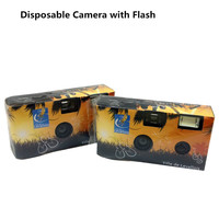 35MM Fuji Color Film Flash Single Use Disposable Cameras With Customized Color Box Design With Alkaline Battery&New Camera Case