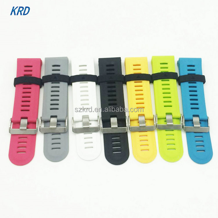 7 colors new style fashionable Silicone Sport Watch Band Strap Replacement For Garmin Fenix3 Fenix 3 watch With Tools