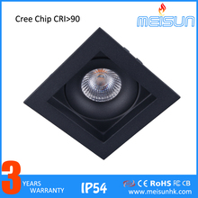 Anti-glare lighting dimmable SAA 10w cob led downlight 80mm cut size