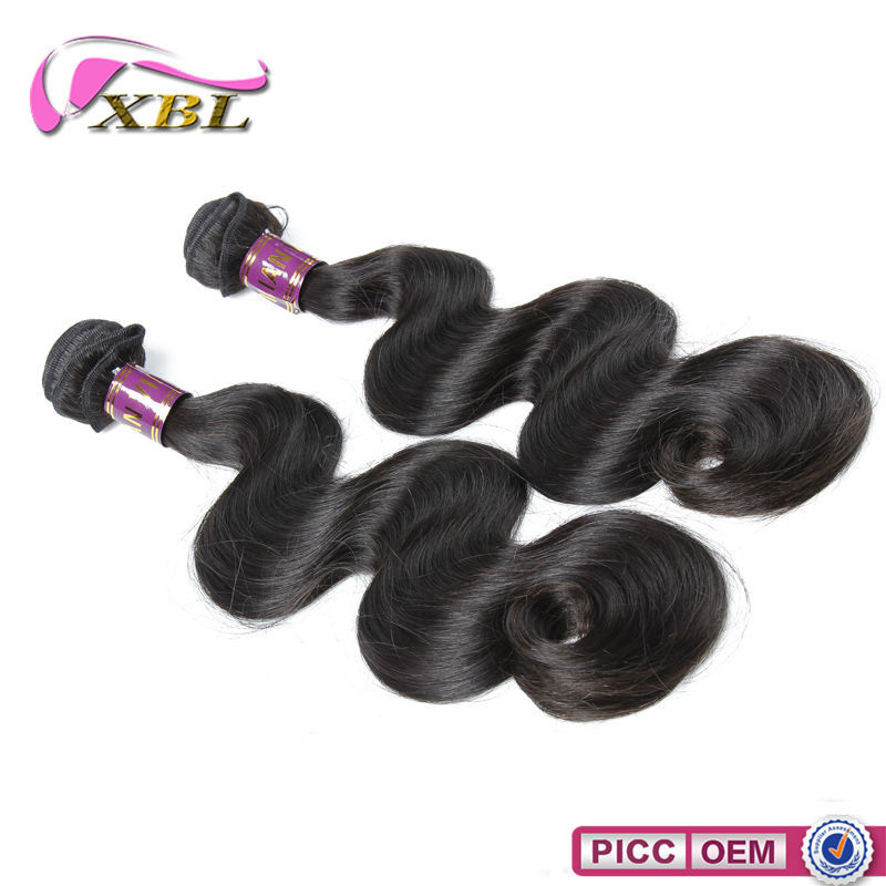 10A Full Ends 100G Brazilian Human Hair,Remy Double Drawn Machine Weft Hair