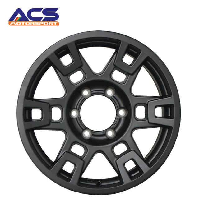 Factory supply black face alloy wheels rims