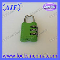 AJF TSA shape digital cases bag lock