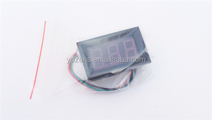 "0.56"" Digital Ammeter DC 0-100A 3wires 3 digit Current Panel"