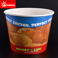 85oz take out paper fried chicken bucket box container