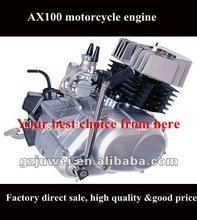 AX 100 motorcycle engine