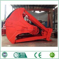 clamshell mechanical four rope grab bucket for sale
