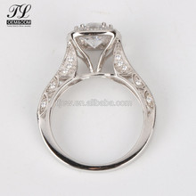 New Arrival Popular ladies gift 9 10 14 18 carat round shape gold rings