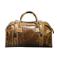 waxy genuine leather duffle bag top grain leather travelling luggage bag weekend bag