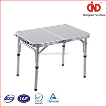 New Uniquely Cheap Customized Folding Metal Mesh Table