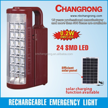 rechargeable led emergency lamp with smd light battery portable light