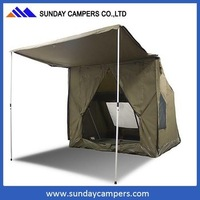 4x4 camping accessories half round awning for cars