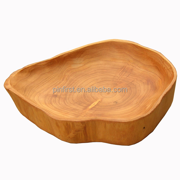 Exquisite high quality Antique Handmade Wooden Plates