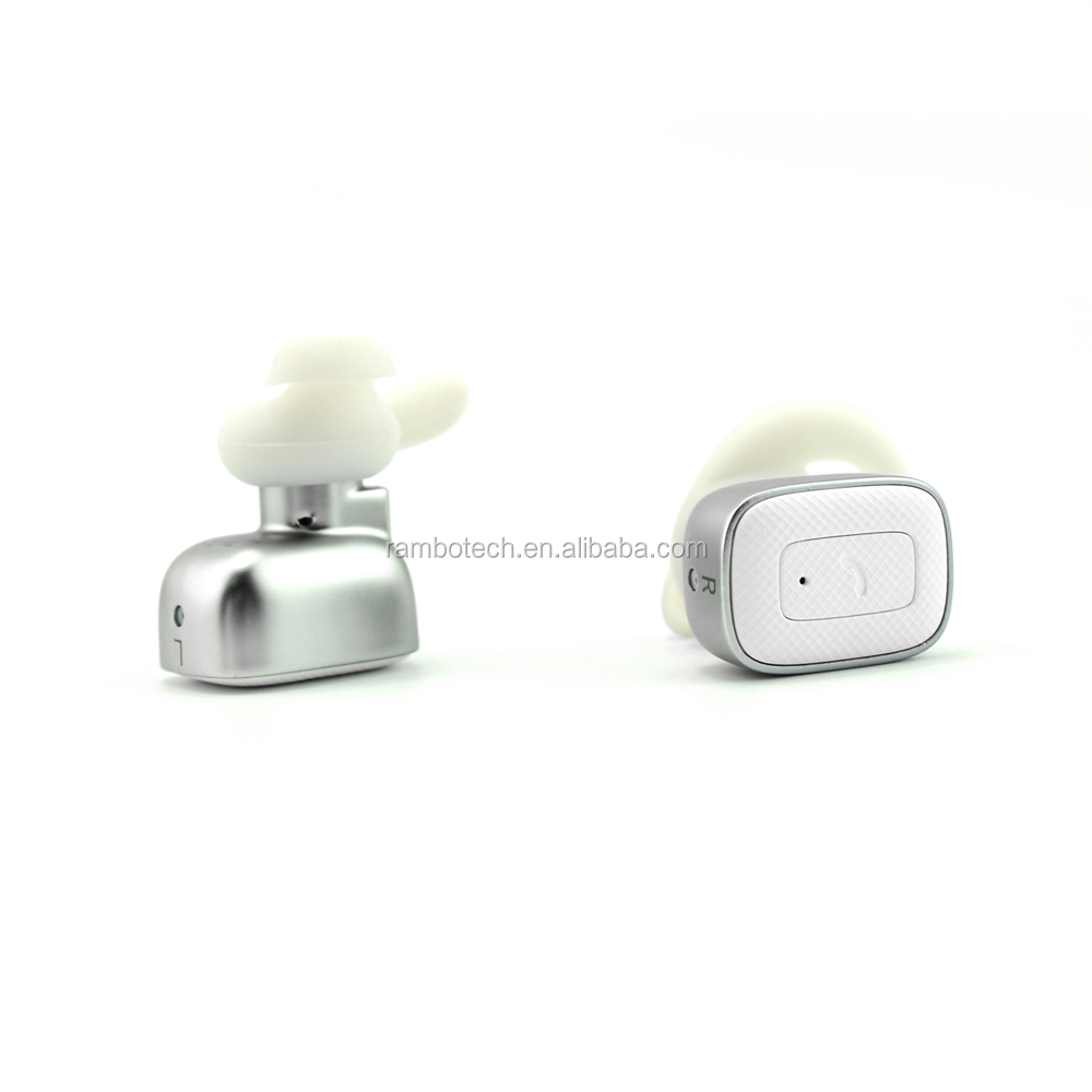 Mini Invisible Style Wireless Bluetooth Hands free China Wholesale Bluetooth Headset--RBQ5