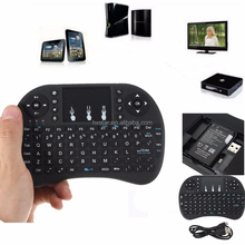 High quality I8 Wireless Gaming Mini Keyboard 2.4G multitouch Touchpad Air Mouse For Ipad/PS3/XBox/TV Box Gamer