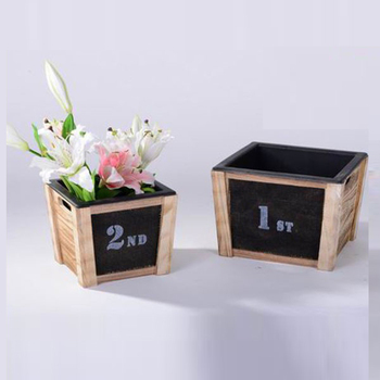 small wooden toy storage box for sale set of 2