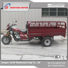 Rear Covered Cargo Tricycle/Cabin 3 Wheel Motorcycle For Cargo And Passenger