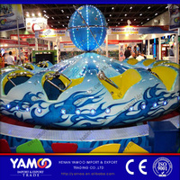 Yamoo new design amusement rides rotating ride ballerina for sale