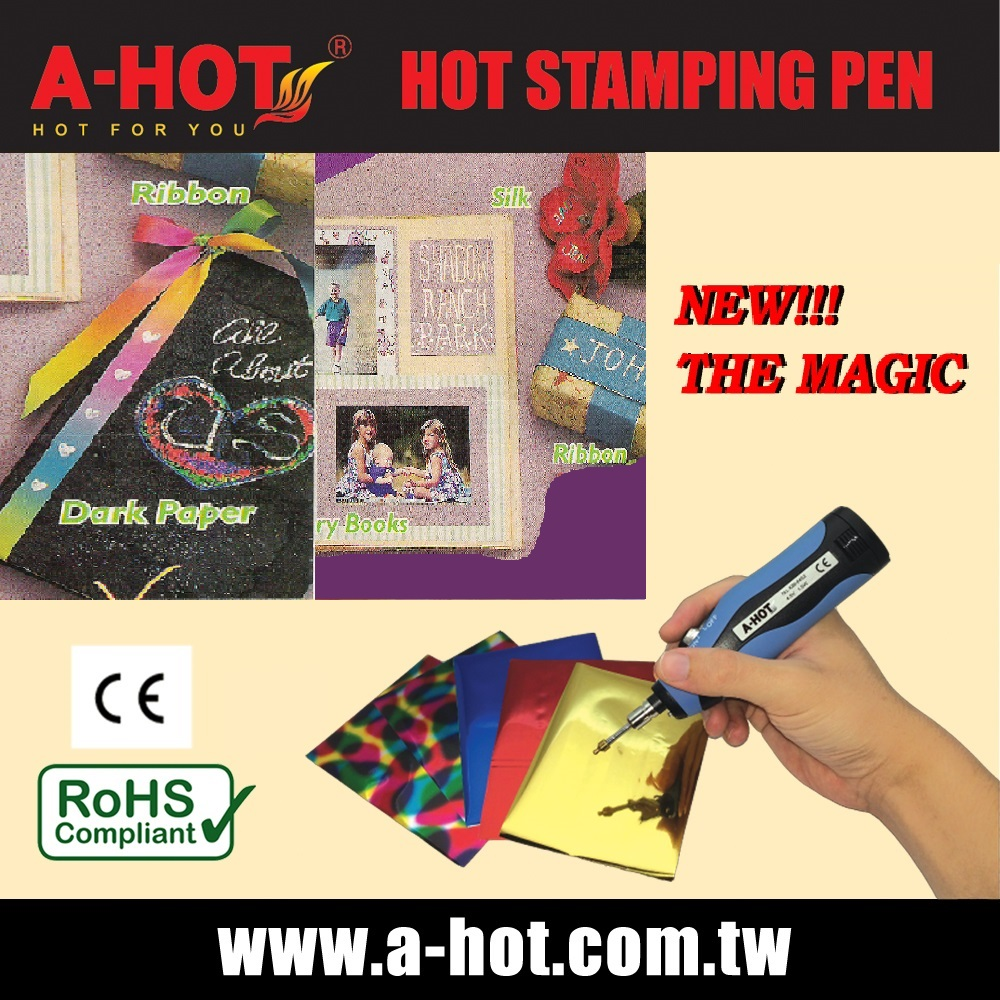 DIY CARD SUPPLIER BATTERY HOT STAMPING PEN KIT